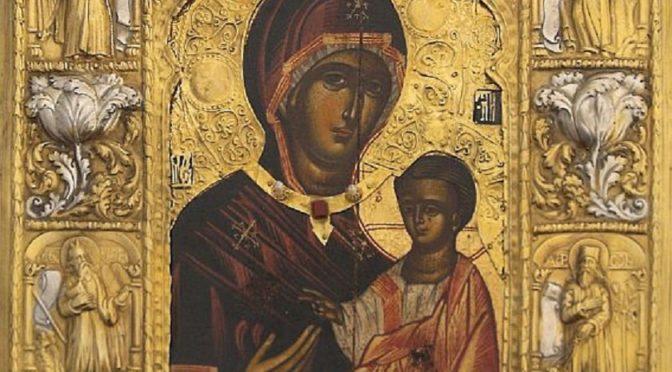 Икона «Панагия Сумела» в Санкт-Петербурге