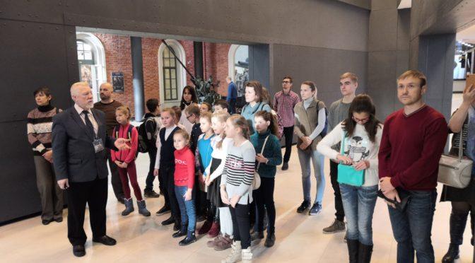 Воспитанники Воскресной школы посетили музей ВМФ