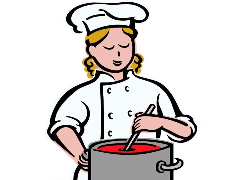 Рисунки повара на кухне