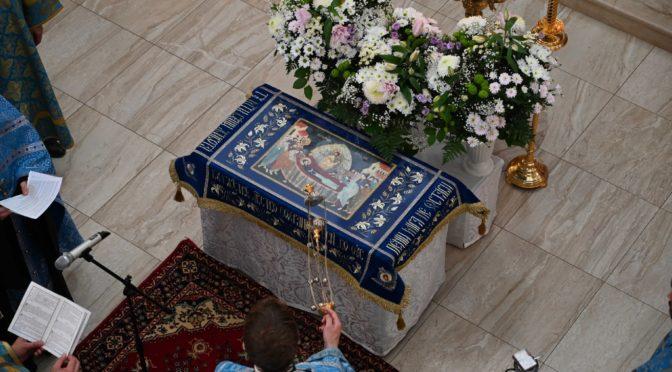 Чин погребенияя Пресвятой Бгородицы