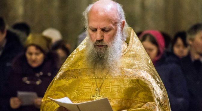 Протоиерей Николай Беляев: Царство Небесное, вечный покой