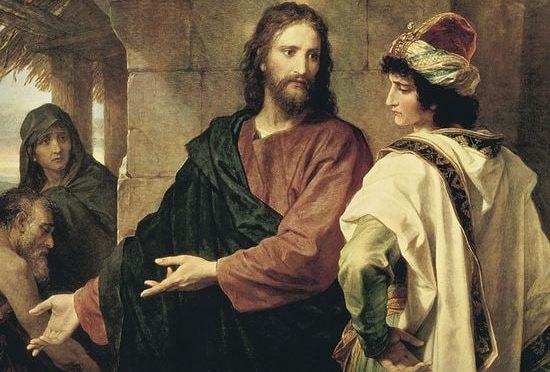 Ответ Христа богатому юноше