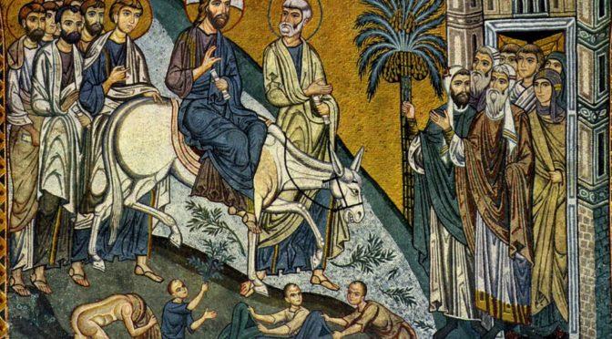 Вербное воскресение или при чем здесь вербы?