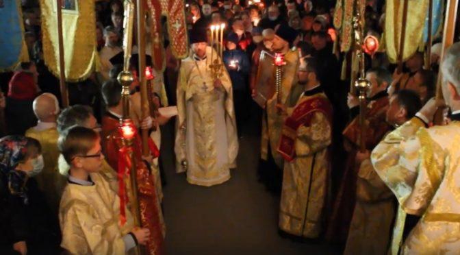 Пасхальный Крестный ход в нашем храме