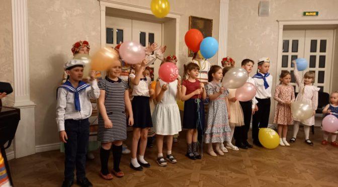 17 мая прошел концерт детей и родителей, организованный Родительским клубом нашего храма